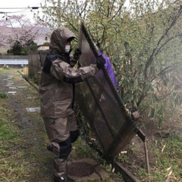 いわき市不用品回収 塀撤去処分